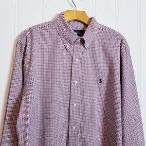 Polo Ralph Lauren Long Sleeve Classic Fit Shirt
